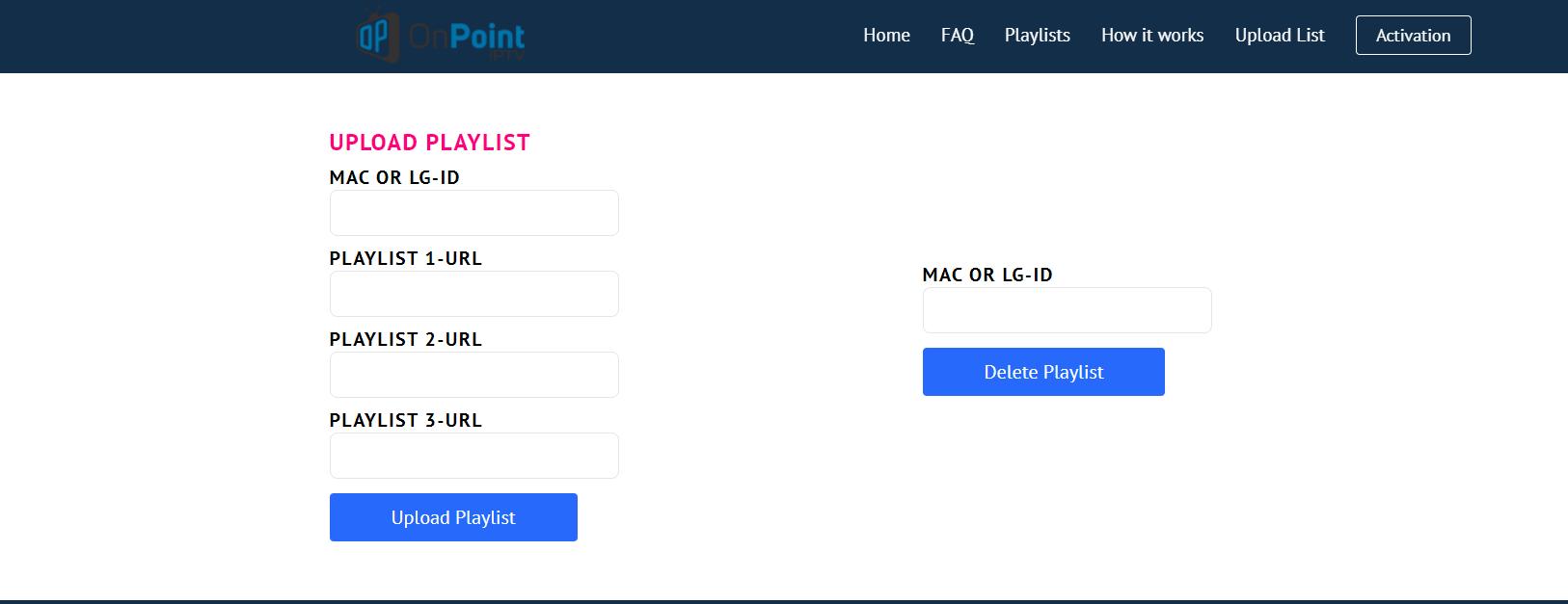 onpoint iptv app